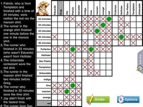 puzzle baron s large print logic puzzles books logic puzzles by puzzle baron app for iphone