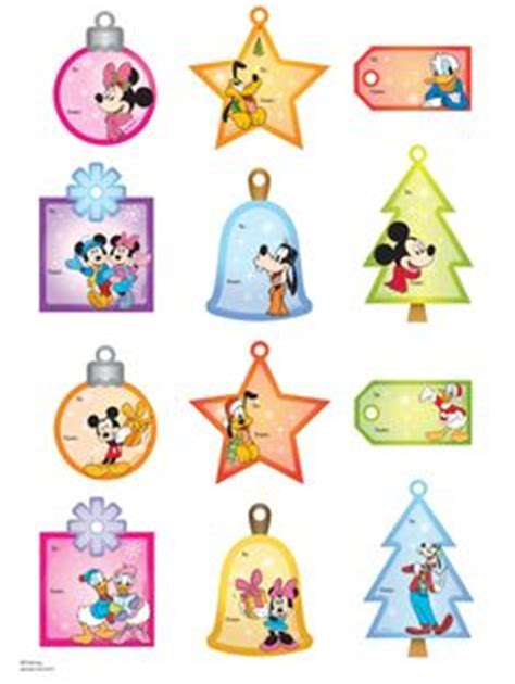 printable minnie mouse christmas gift tags disney crafts on pinterest mickey mouse mickey mouse