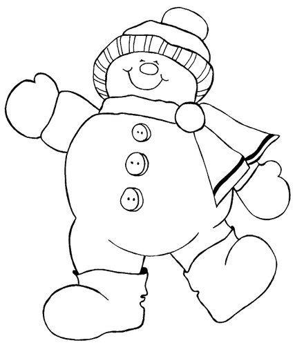 large snowman coloring page navidad 100 creaciones claudia