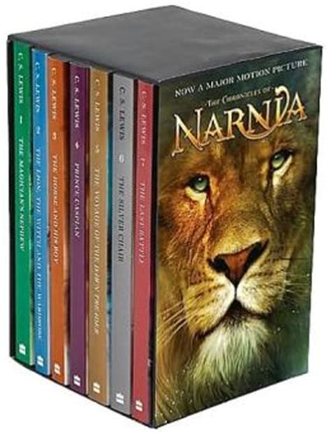 narnia film box set the the chronicles of narnia movie tie in boxed set by