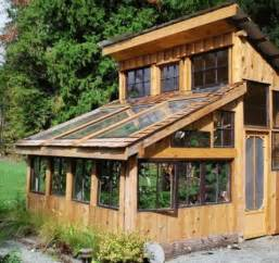 Green Small House Plans by 21 Stunning Diy Greenhouses You Can Make