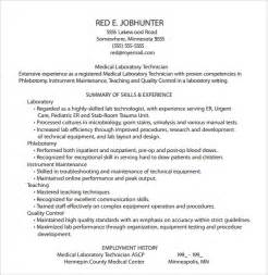 phlebotomy resume templates phlebotomy resume templates