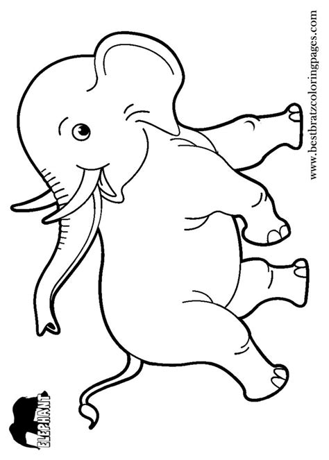 ellie elephant coloring page 227 best images about coloring pages on pinterest horse