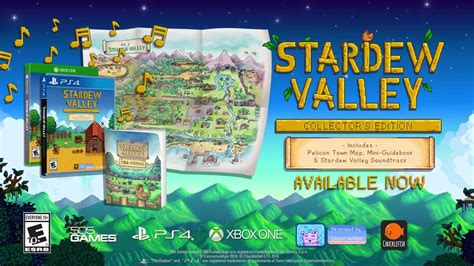 Kaset Ps4 Stardew Valley Collector S Edition stardew valley collector s edition for ps4 and xbox one gets launch trailer