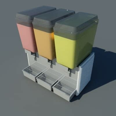 dispense autocad juice dispenser 3d dwg