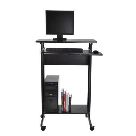 Ergonomic Stand Up Desk Computer Workstation by Tenive Ergonomic Mobile Office Desk Stand Up Computer