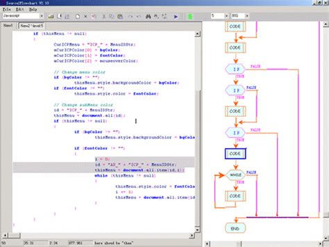 pl sql flowchart generator flow chart generator from c c java vb vba vbscript