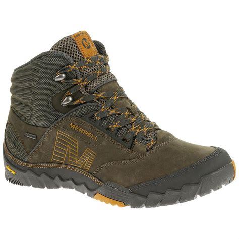 merrell tex hiking boot merrell annex mid tex hiking boots 643869 hiking