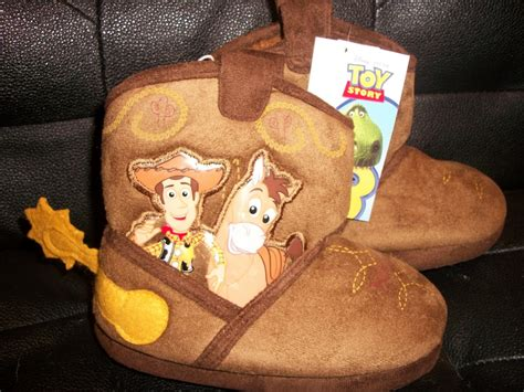 woody slippers new disney story 3 woody cowboy boots slippers size 5