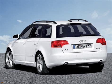 Audi A4 3.0 TDI quattro S Line Avant B7,8E (2004?2008) photos (1600x1200)