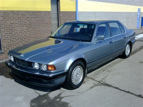 bmw 1990 7 series bmw 7 series 735il 1990 auto images and specification