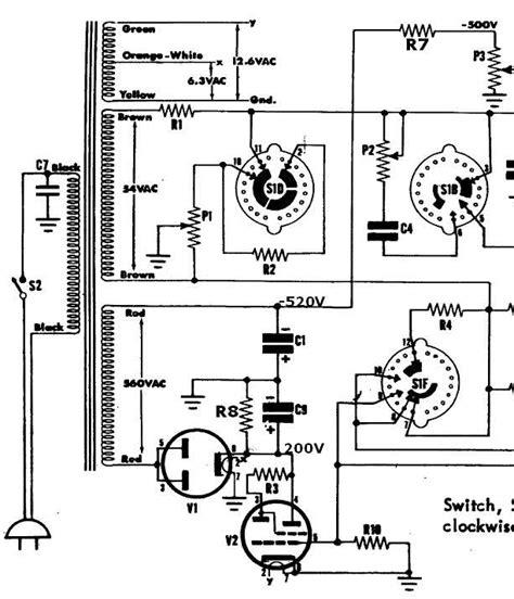 capacitor tester schematic eico capacitor tester schematic fender schematic elsavadorla