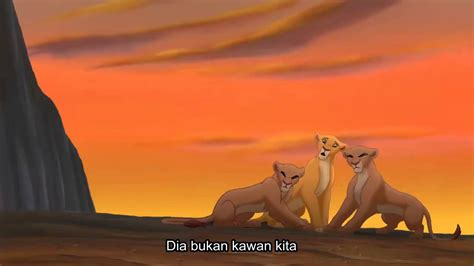 film lion king bahasa indonesia the lion king 2 not one of us indonesian youtube