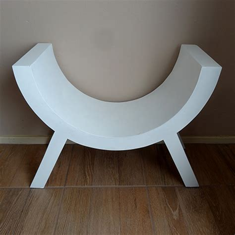 curved bench prop home dzine home diy how to make a curved chair