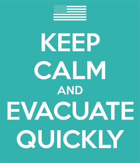 Childrens Wall Stickers Uk keep calm and evacuate quickly keep calm and carry on