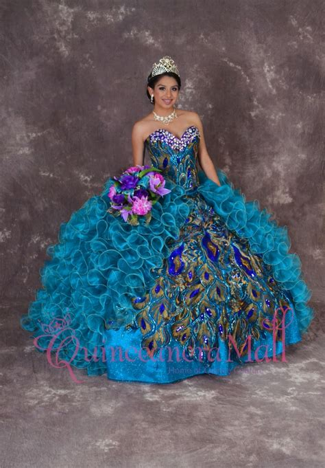 peacock themed quinceanera dresses peacock quinceanera dress 10163qm quinceanera mall