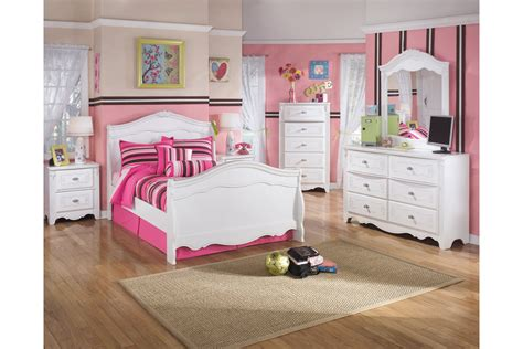 house of bedroom kids exquisite 6 piece twin bedroom set by ashley furniture