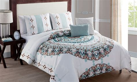 medallion comforter set medallion comforter set groupon goods