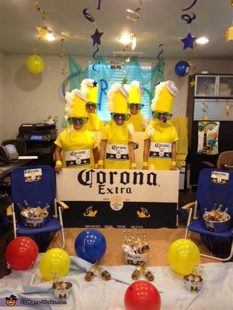 corona  pack group halloween costume photo