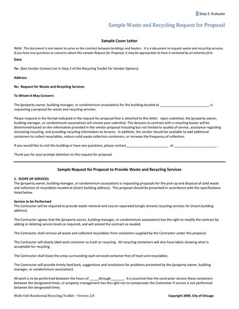 vendor proposal cover letter in word and pdf formats