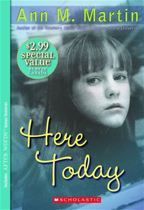 today i m a books here today by m martin reviews discussion