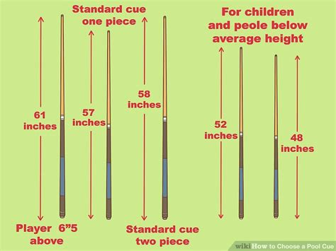 normal pool table size how to choose a pool cue 10 steps with pictures wikihow