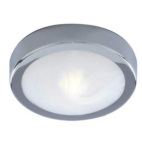 Ceiling Light Chrome Marble Glass Bathroom Ceiling Light