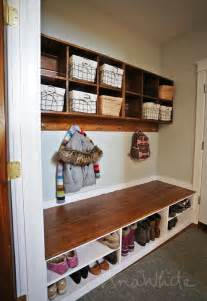 white wall cubby crate shelves diy projects