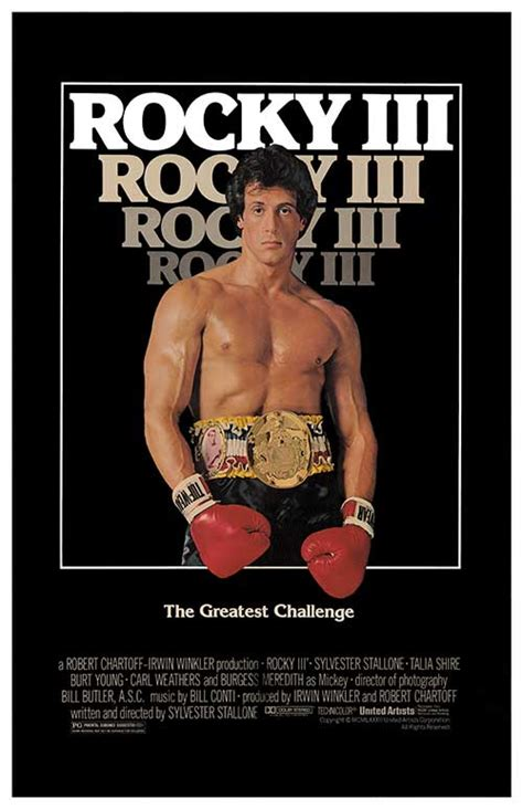 Plakat Rocky by Rocky Iii Movie Posters At Movie Poster Warehouse