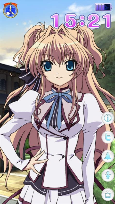 S Anime Apk by Android Apps Airi Live2d Clock By Digimerce Ani