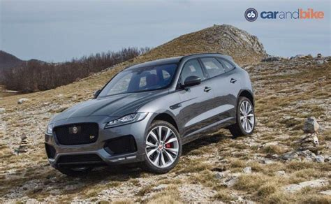 jaguar f pace grey jaguar f pace officially arrives in india prices start at