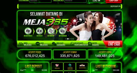 meja login domino  poker  terpercaya
