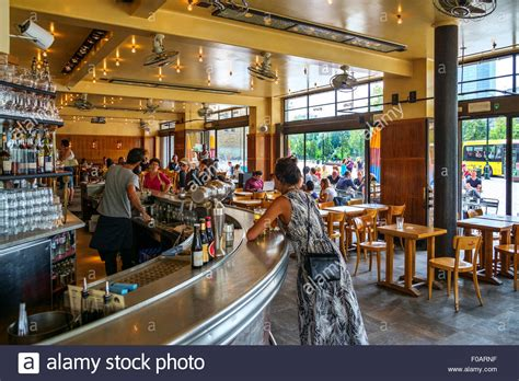 Interior Place by Cafe Belga Interior Place Flagey Brussels Belgium Stock