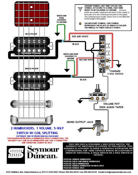 Ibanez Dimarzio Ibz Humbucker Not Seymour Duncan Bill getting all the strat tones with 2 humbuckers how to wire guitar wiring diagrams