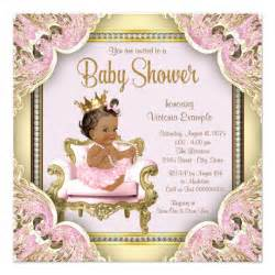 american princess baby shower invitation zazzle