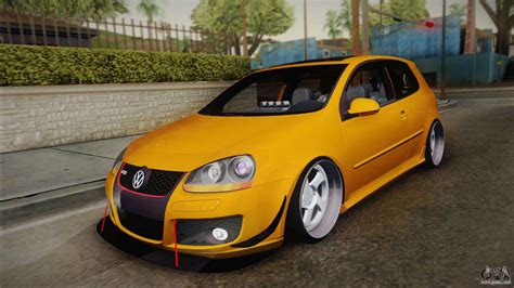 volkswagen golf stance volkswagen golf 5 stance for gta san andreas
