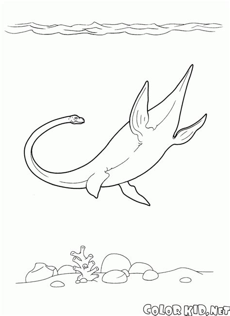 underwater dinosaurs coloring pages coloring page dinosaurs