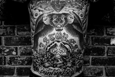 tattoo artist oliver peck artist oliver peck detail the of