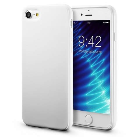 coque souple silicone tpu blanc iphone 7 iphone 8 protection efficace