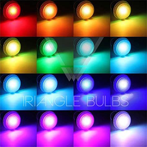 Multi Color Led Light Bulbs Triangle Bulbs 174 Multi Color 9w Rgb Led E27 Mood Light Light Bulb With Remote Buy