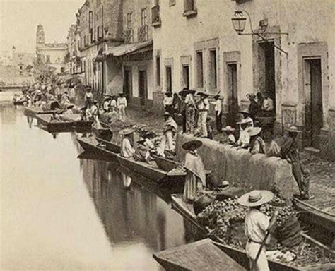 imagenes antiguas ciudad de mexico hace apenas 100 a 241 os hab 237 a canales en la ciudad de m 233 xico