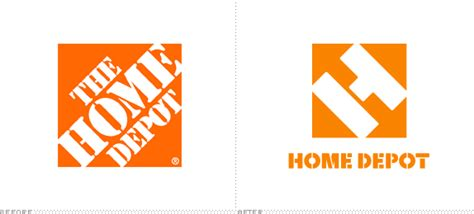 kitschmacu the home depot logo enchulado