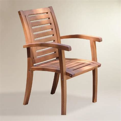 world market armchair wood galena armchair world market