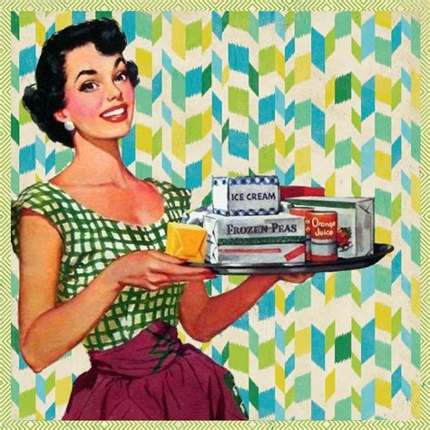 fotos retro free illustration retro kitchen free