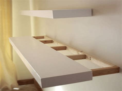 Make Your Own Bookcase Build Floating Shelves Diy Built Building Floating Shelves