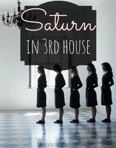 saturn in third house 52 best astrology house 3 communication images on