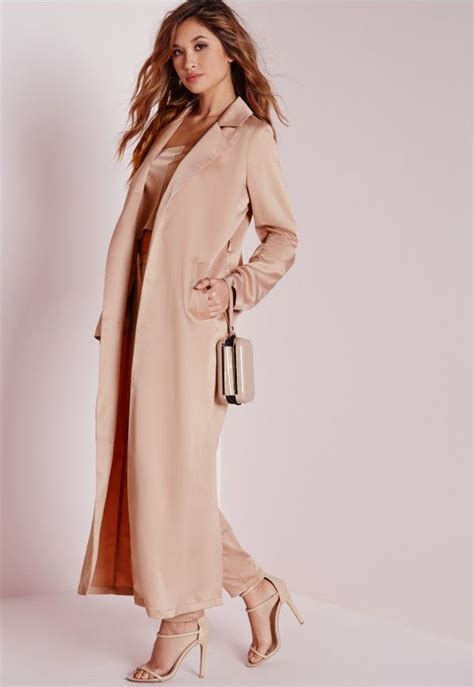 Sabiha Blazer With Maxi Satin 112 best this winter duster coat images on feminine fashion and for