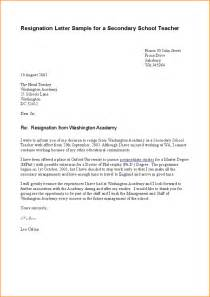 Letter Format Of Resignation by 10 Sle Resignation Letter Basic Appication Letter