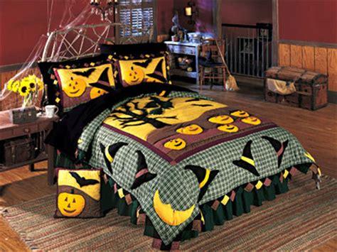halloween bedding halloween puff 4pc bed in a bag queen bedding set