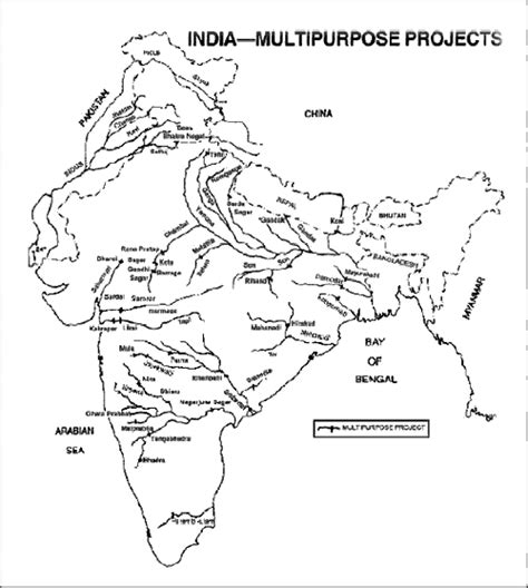 Multipurpose River Valley Project Essay by Igp Ias Pre Gs Geography Indian Geography Physical India Physical Part 3 Ias Upsc